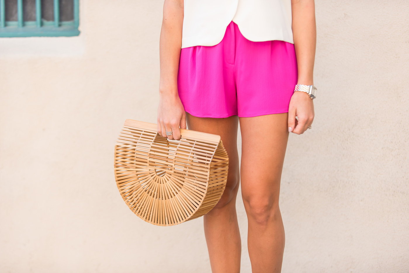 Hot Pink Shorts from Topshop