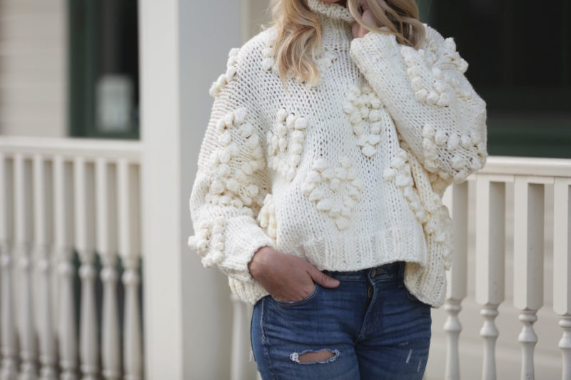 Knit Your Love Turtleneck Sweater