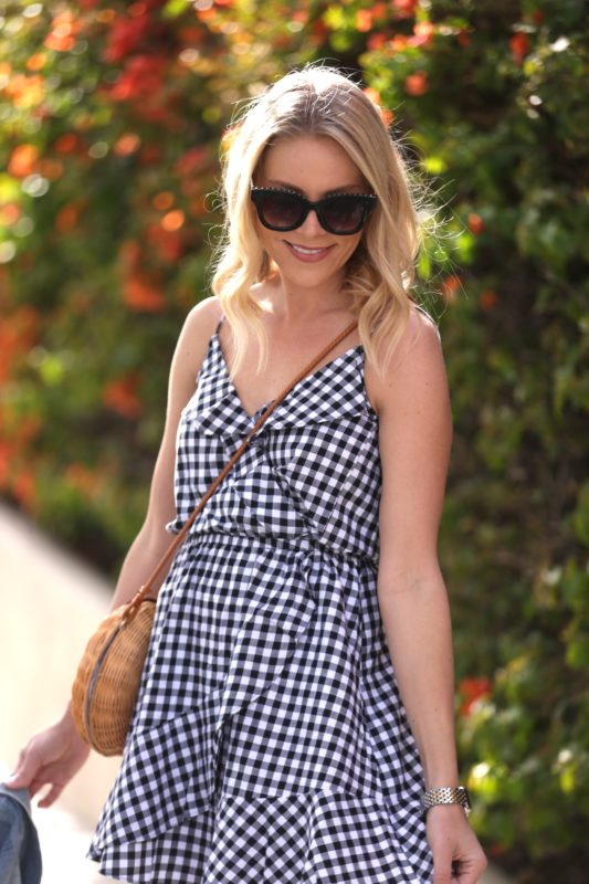 f02ee842ac8 Express Ruffle Gingham Dress by Sprinkles on Sunday