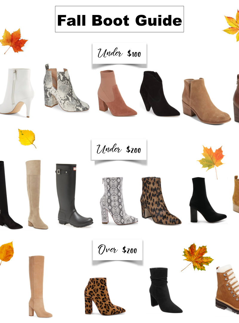 Fall Boot Guide