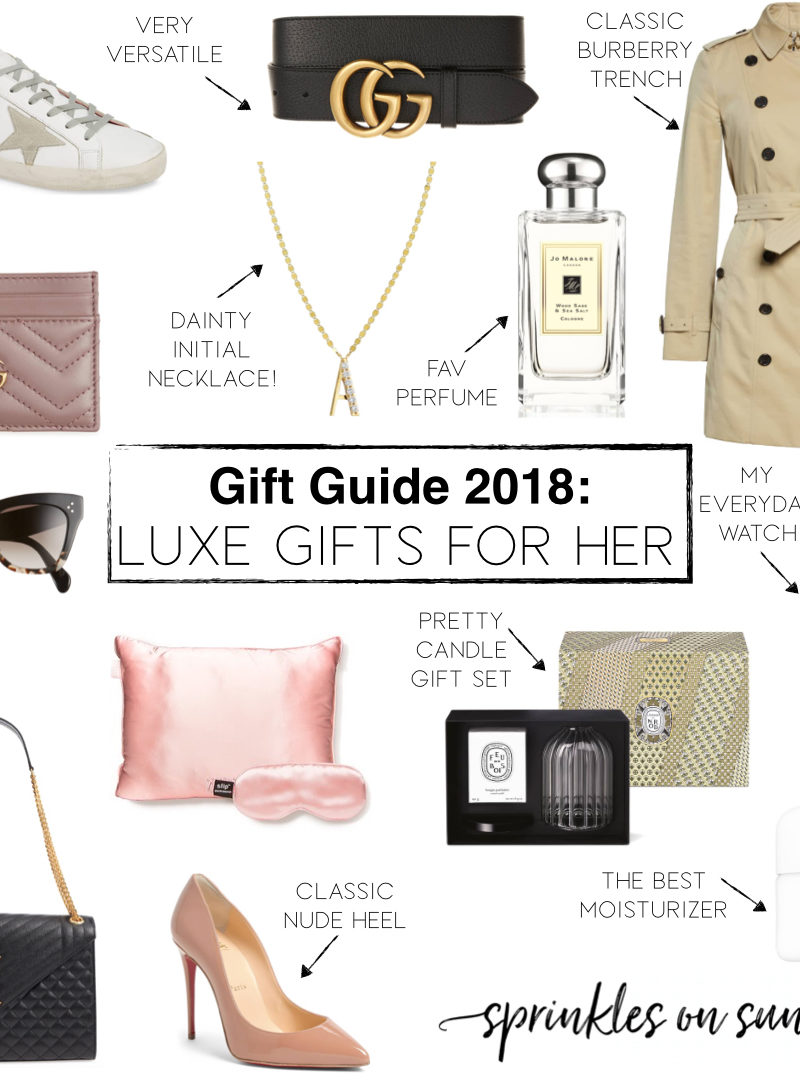 Gift Guide: Luxe Gifts For Her