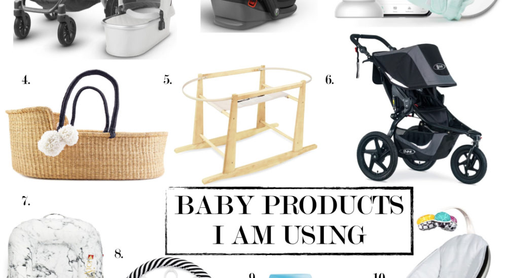 10 Baby Products I am Using